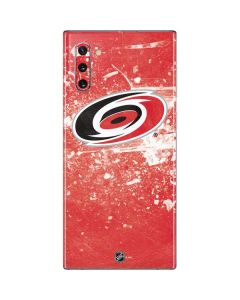 Carolina Hurricanes Frozen Galaxy Note 10 Skin