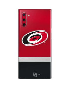 Carolina Hurricanes Jersey Galaxy Note 10 Skin