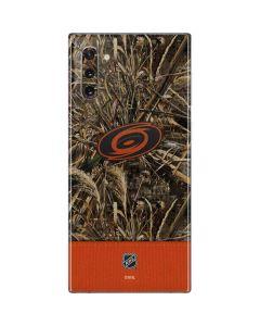Carolina Hurricanes Realtree Max-5 Camo Galaxy Note 10 Skin