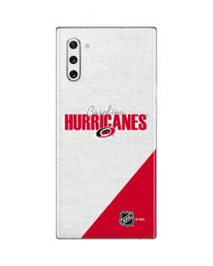 Carolina Hurricanes Script Galaxy Note 10 Skin