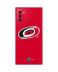 Carolina Hurricanes Solid Background Galaxy Note 10 Skin