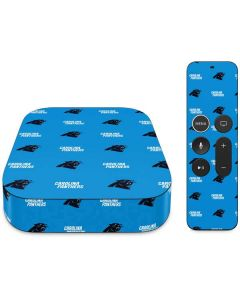 Carolina Panthers Blitz Series Apple TV Skin
