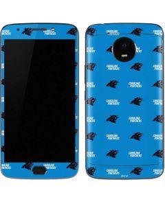Carolina Panthers Blitz Series Moto E4 Plus Skin