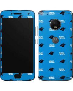 Carolina Panthers Blitz Series Moto G5 Plus Skin