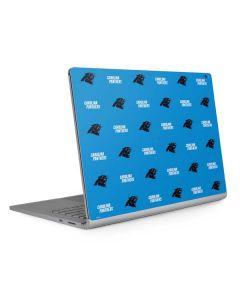 Carolina Panthers Blitz Series Surface Book 2 15in Skin
