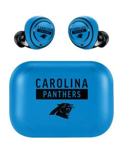 Carolina Panthers Blue Performance Series Amazon Echo Buds Skin