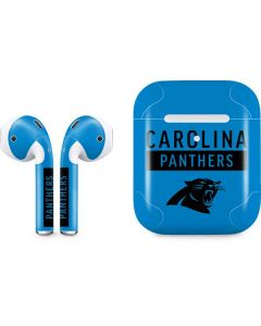 Carolina Panthers Blue Performance Series Apple AirPods 2 Skin