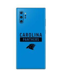 Carolina Panthers Blue Performance Series Galaxy Note 10 Plus Skin