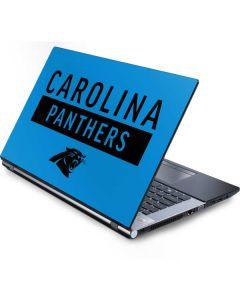 Carolina Panthers Blue Performance Series Generic Laptop Skin