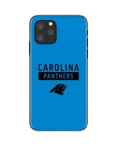 Carolina Panthers Blue Performance Series iPhone 11 Pro Skin