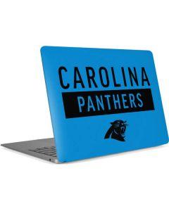 Carolina Panthers Blue Performance Series Apple MacBook Air Skin