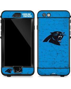 Carolina Panthers Distressed Alternate LifeProof Nuud iPhone Skin