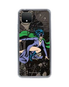 Catwoman Mixed Media Google Pixel 4 Clear Case