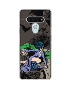 Catwoman Mixed Media LG Stylo 6 Clear Case