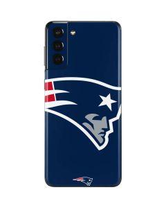New England Patriots Large Logo Galaxy S21 Plus 5G Skin