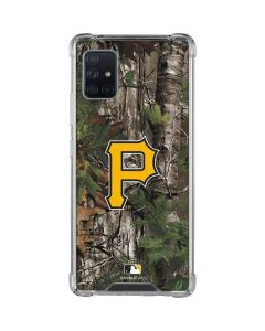 Pittsburgh Pirates Realtree Xtra Green Camo Galaxy A51 5G Clear Case