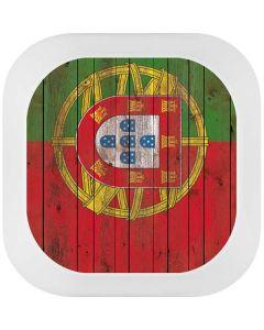 Portuguese Flag Dark Wood Link Puck Skin