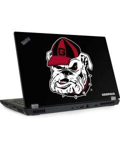 Georgia Bulldogs Mascot Lenovo ThinkPad Skin