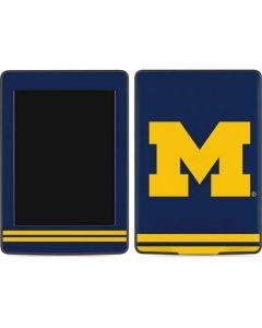 Michigan Logo Striped Amazon Kindle Skin