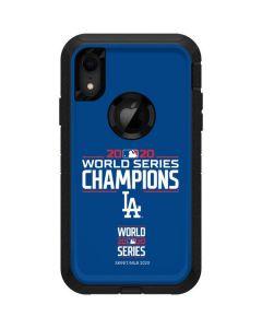 2020 World Series Champions LA Dodgers Otterbox Defender iPhone Skin