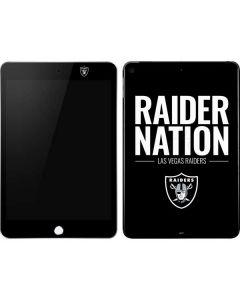 Las Vegas Raiders Team Motto Apple iPad Mini Skin