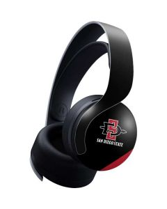 San Diego State PULSE 3D Wireless Headset for PS5 Skin