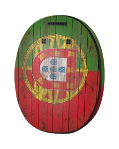 Portuguese Flag Dark Wood MED-EL Rondo 3 Skin