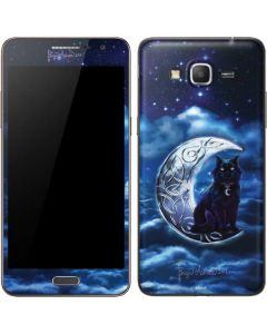Celtic Black Cat Galaxy Grand Prime Skin