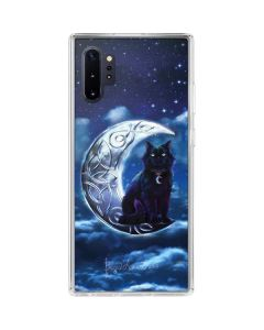 Celtic Black Cat Galaxy Note 10 Plus Clear Case