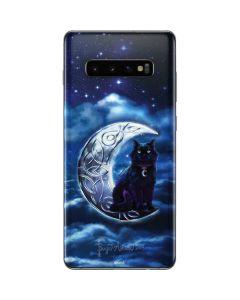 Celtic Black Cat Galaxy S10 Plus Skin