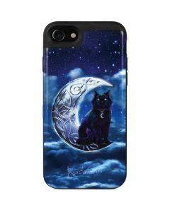 Celtic Black Cat iPhone SE Wallet Case