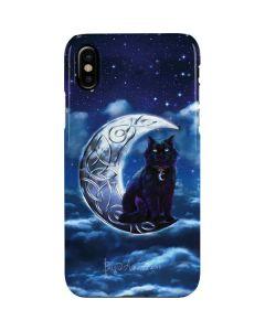 Celtic Black Cat iPhone XS Max Lite Case
