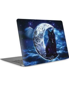 Celtic Black Cat Apple MacBook Air Skin