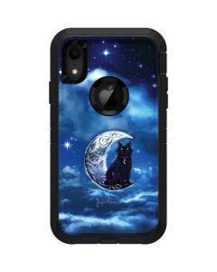 Celtic Black Cat Otterbox Defender iPhone Skin