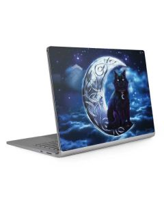 Celtic Black Cat Surface Book 2 15in Skin