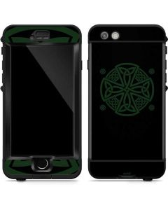 Celtic Cross on Black LifeProof Nuud iPhone Skin