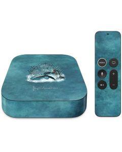 Celtic Dolphin Apple TV Skin
