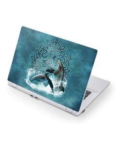 Celtic Dolphin Acer Chromebook Skin