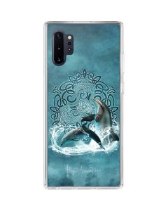 Celtic Dolphin Galaxy Note 10 Plus Clear Case