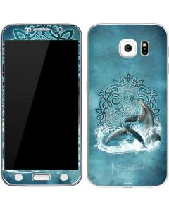 Celtic Dolphin Galaxy S6 Skin