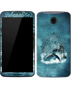 Celtic Dolphin Google Nexus 6 Skin