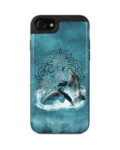 Celtic Dolphin iPhone SE Wallet Case
