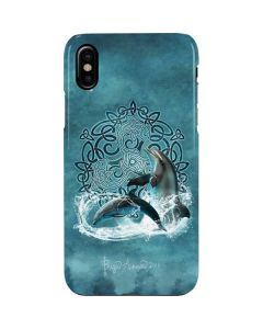 Celtic Dolphin iPhone XS Max Lite Case