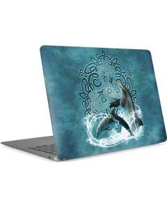 Celtic Dolphin Apple MacBook Air Skin