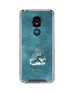 Celtic Dolphin Moto G7 Power Clear Case