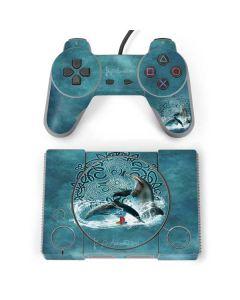 Celtic Dolphin PlayStation Classic Bundle Skin