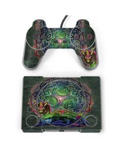 Celtic Dragon PlayStation Classic Bundle Skin