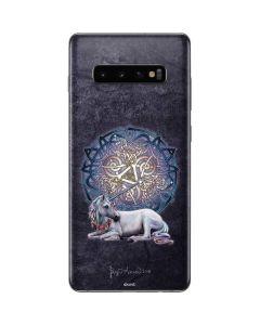 Celtic Unicorn Galaxy S10 Plus Skin
