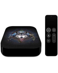 Celtic Wolf Guide Apple TV Skin