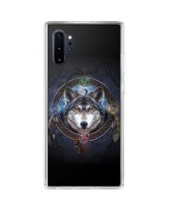 Celtic Wolf Guide Galaxy Note 10 Plus Clear Case